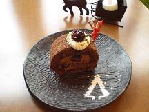 ブログ「へっぱく in裏庭」-チョコロール