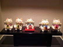 ブログ「へっぱく in裏庭」-招き猫