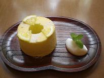 ブログ「へっぱく in裏庭」-レモンのシフォン