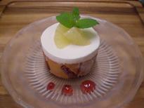 ブログ「へっぱく in裏庭」-グレープフルーツのムース