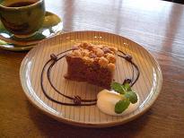 ブログ「へっぱく in裏庭」-コーヒーケーキ